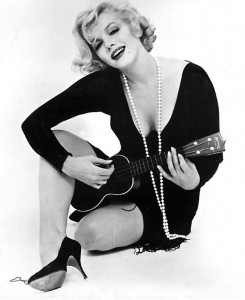 Marilyn Monroe Ukulele Avedon